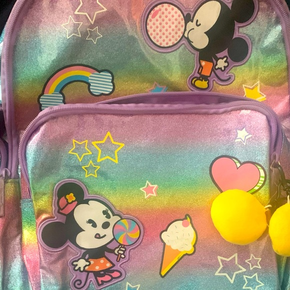 Disney Store Mickey & Mini backpack plus lunchpale.. 🐭